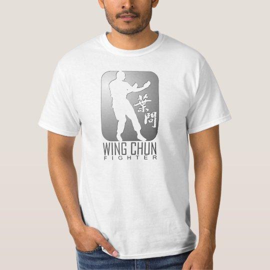 Wing Chun Fighter (Silver) T-Shirt