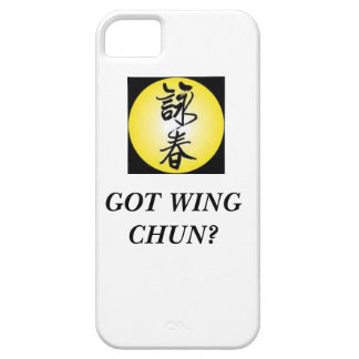 wing chun iphone case