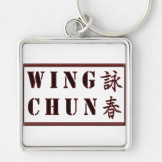 Wing Chun Keychain - Red