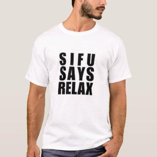 wing chun sifu T-Shirt