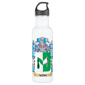 Wing Coat of Arms - Family Crest Stainless Steel Water Bottle