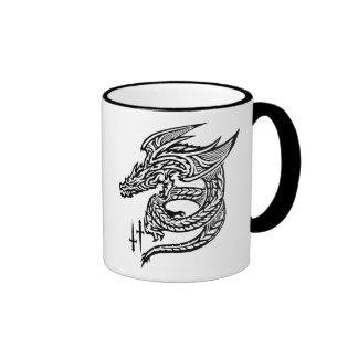 Wing Dragon 11 oz Ringer Mug