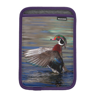 Wing Flapping Wood Duck Sleeve For iPad Mini