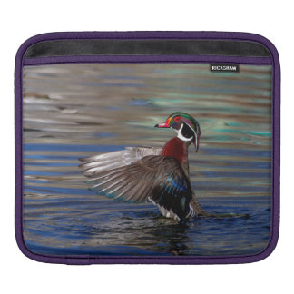 Wing Flapping Wood Duck Sleeve For iPads