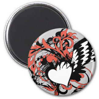 wing&heart magnet