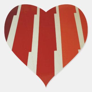 Wing Heart Sticker