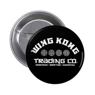 wing kong trading co. big trouble in little china pinback buttons