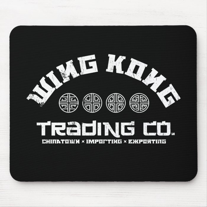 wing kong trading co. big trouble in little china mouse pad