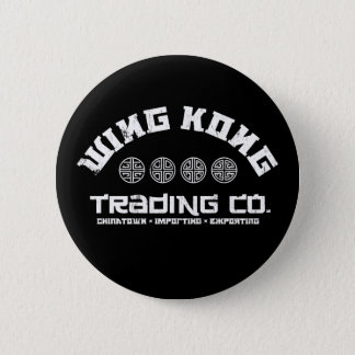 wing kong trading co. big trouble in little china pinback button