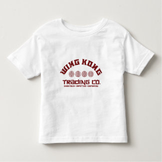 wing kong trading co. big trouble in little china toddler t-shirt