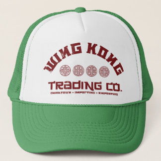 wing kong trading co. big trouble in little china trucker hat