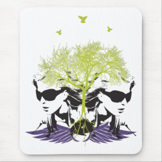 Wing Lady Mouse Pad