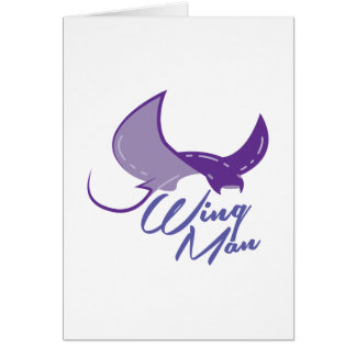 Wing Man Card