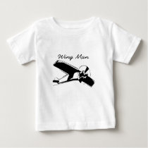 wing man is the best man baby T-Shirt