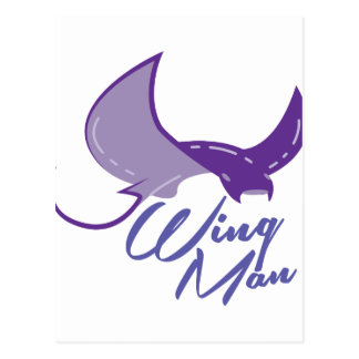 Wing Man Postcard