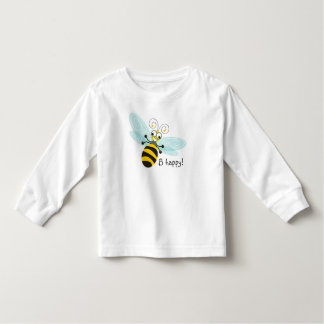 Wing-Nutz™_Bumble Bee (Buzz)_ B Happy! Toddler T-shirt