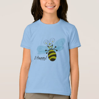 Wing-Nutz™_Bumble Bee (Buzz)_ Be Happy! 2 T-Shirt
