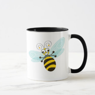 Wing-Nutz™_Bumble Bee_daily caffeine Buzz Mug