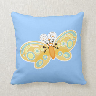 Wing-Nutz™_Butterfly (Beatrice)_ sweet  & fun Throw Pillows