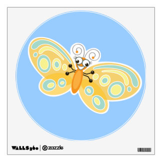 Wing-Nutz™_Butterfly (Beatrice)_ sweet  & fun Wall Decal