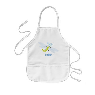 Wing-Nutz™_Dragonfly (Skeeter) _ personalized Kids' Apron