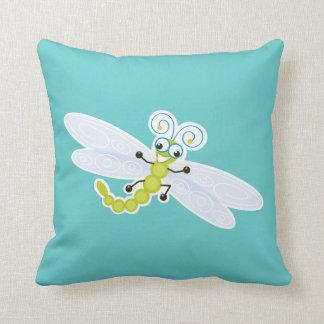 Wing-Nutz™_Dragonfly (Skeeter) _ sweet  & fun Throw Pillows