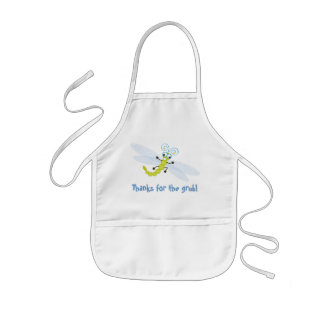 Wing-Nutz™_Dragonfly (Skeeter) _ Thanks for grub! Kids' Apron
