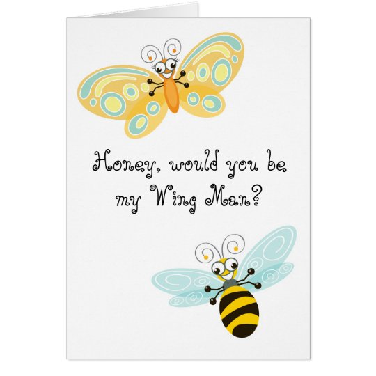 Wing-Nutz™_Fluttering Buddies_Be My Wing Man Card