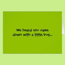 Wing-Nutz™_Fluttering Buddies_ Get Well Soon Card