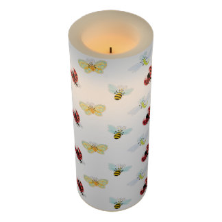 Wing-Nutz™_Fluttering Buddies_illumination3 Flameless Candle
