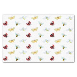 "Wing-Nutz™_Fluttering Buddies_pattern_gift wrap 10"" X 15"" Tissue Paper"