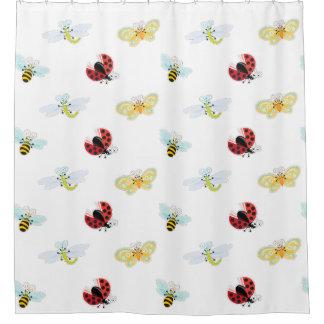Wing-Nutz™_Fluttering Buddies_pattern_sweet y Cortina De Baño