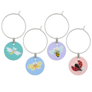 Wing-Nutz™_ladybug_butterfly_bumble bee_dragonfly Identificador De Copa