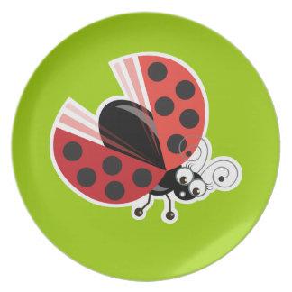Wing-Nutz™_Ladybug (Dotty)_ sweet  & fun Dinner Plate