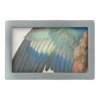 Wing of a Blue Roller by Albrecht Durer Belt Buckle