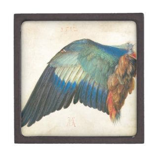 Wing of a Blue Roller by Albrecht Durer Gift Box