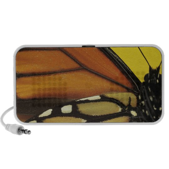 Wing of a butterfly portable speaker