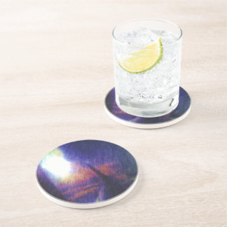 Wing of a plane drink coasters