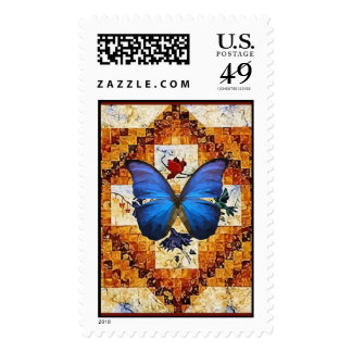 Wing Quilt Postage Stamps