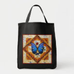 Wing Quilt Tote Bag