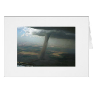 Wing Tip Funnel #2 Greeting Card