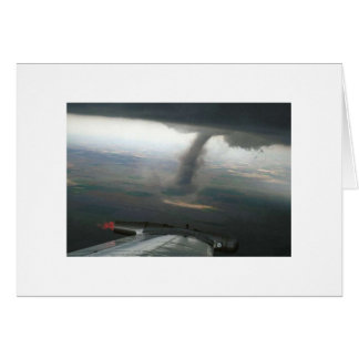 Wing Tip Funnel #3 Greeting Card