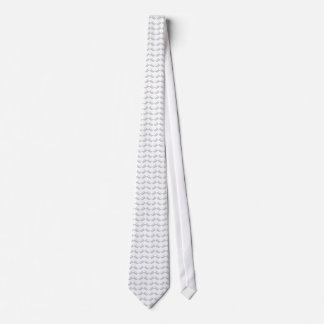 Wing Tip Soft Gray Tie