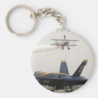Wing Walker over Angel Keychain