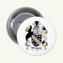 Wingate Family Crest Button