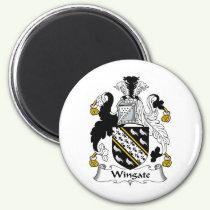 Wingate Family Crest Magnet