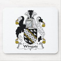 Wingate Family Crest Mousepad