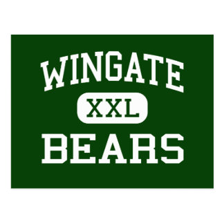 Wingate - osos - alto - fuerte Wingate New México Tarjetas Postales