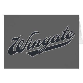 Wingate Tarjeta De Felicitación