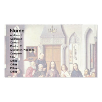 Winged Altar In St. Peter'S In Setting Up The Lion Double-Sided Standard Business Cards (Pack Of 100)